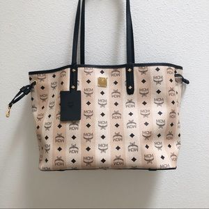 MCM shopper tote bag NWT